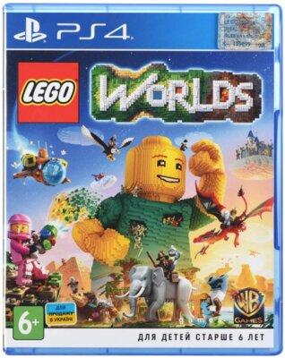 Игра LEGO Worlds (PS4, Русская версия) 1