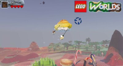 Игра LEGO Worlds (PS4, Русская версия) 4