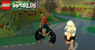 Игра LEGO Worlds (PS4, Русская версия) 5
