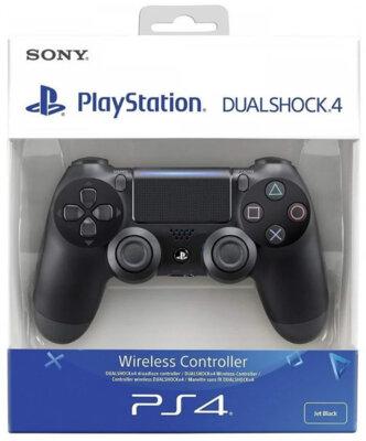 Безпровідний геймпад Sony Dualshock 4 V2 Jet Black для PS4 5