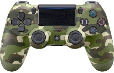 Безпровідний геймпад SONY Dualshock 4 V2 Green Cammo для PS4 (9895152) 1