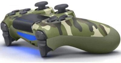 Безпровідний геймпад SONY Dualshock 4 V2 Green Cammo для PS4 (9895152) 3
