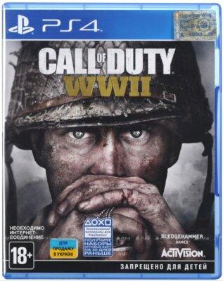 Гра Call of Duty WWII (PS4, Російська версія) 1
