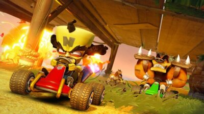 Игра Crash Team Racing (PS4, Английский язык) 4