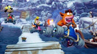 Игра Crash Team Racing (PS4, Английский язык) 5