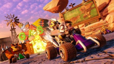 Игра Crash Team Racing (PS4, Английский язык) 7