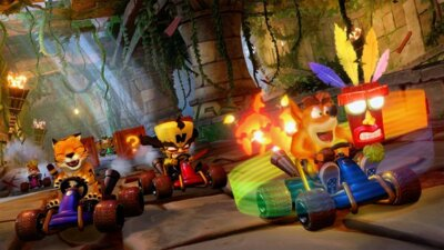 Игра Crash Team Racing (PS4, Английский язык) 8