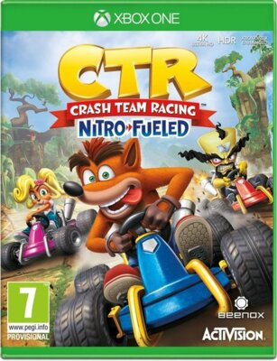Игра Crash Team Racing (Xbox One, Английский язык) 1