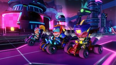 Гра Crash Team Racing (Nintendo Switch, Англійська мова) 4