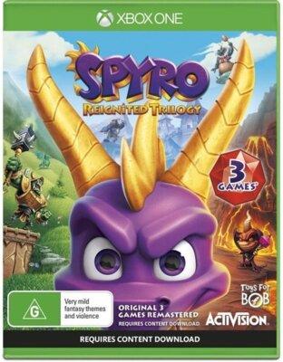 Гра Spyro Reignited Trilogy (Xbox One, Англійська мова) 1