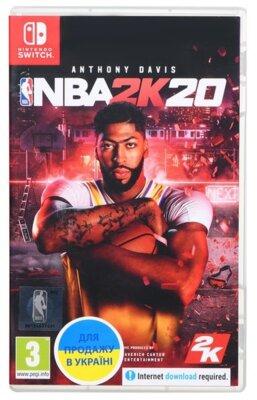 Игра NBA 2K20 (Nintendo Switch, Английский язык) 1