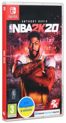 Игра NBA 2K20 (Nintendo Switch, Английский язык) 6