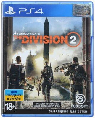 Игра Tom Clancy's The Division 2 (PS4, Русская версия) 1