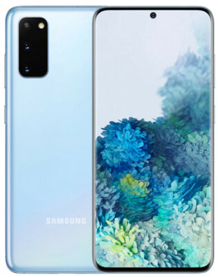 Смартфон Samsung Galaxy S20 Light Blue 3