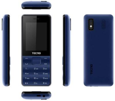 Мобільний телефон Tecno T372 TripleSIM Deep Blue 2