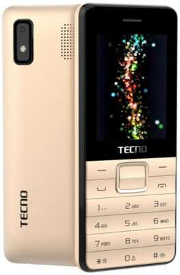 Мобильный телефон Tecno T372 TripleSIM Champagne Gold 1