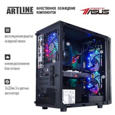 Системный блок ARTLINE Gaming X38 v09 (X38v09) 2