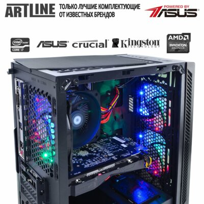 Системный блок ARTLINE Gaming X38 v09 (X38v09) 4