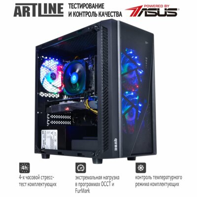 Системный блок ARTLINE Gaming X38 v09 (X38v09) 5