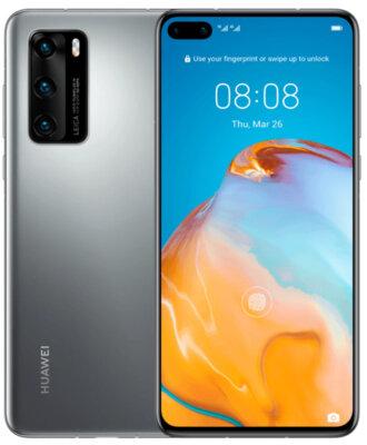 Смартфон Huawei P40 8/128 Silver Frost 1