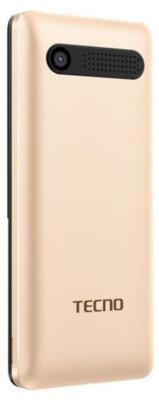 Мобильный телефон Tecno T301 DS Champagne Gold 2