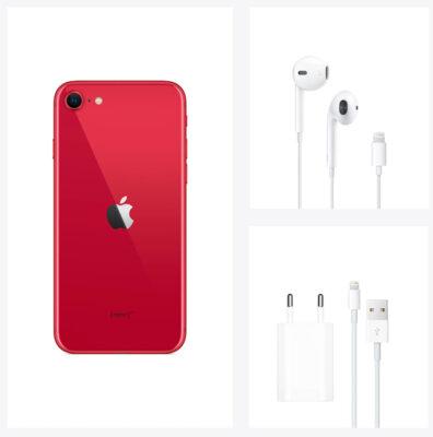 Смартфон Apple iPhone SE 256GB (PRODUCT) RED 5