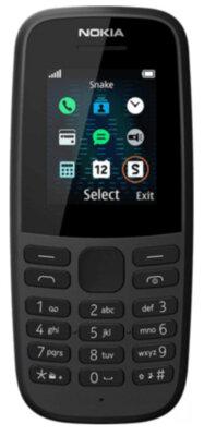 Мобільний телефон Nokia 105 2019 Single Sim Black 1