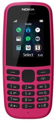 Мобільний телефон Nokia 105 2019 Single Sim Pink 1