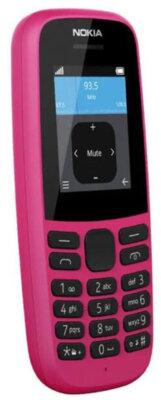 Мобільний телефон Nokia 105 2019 Single Sim Pink 4