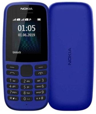 Мобильный телефон Nokia 105 TA-1203 Single SIM EAC UA Blue 2