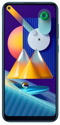 Смартфон Samsung Galaxy M11 3/32Gb Blue 1