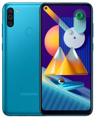 Смартфон Samsung Galaxy M11 3/32Gb Blue 3