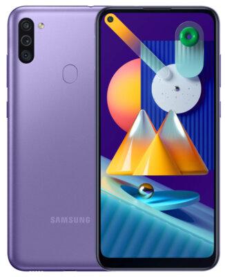 Смартфон Samsung Galaxy M11 3/32Gb Violet 3