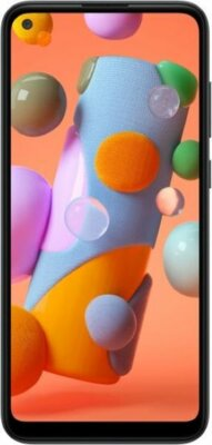 Смартфон Samsung Galaxy A11 Black 1