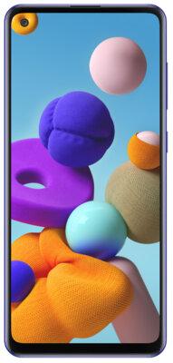 Смартфон Samsung Galaxy A21s Blue 1
