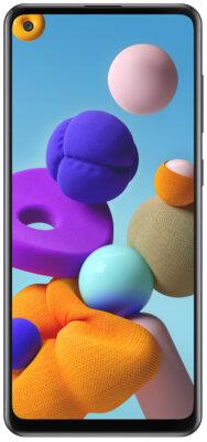 Смартфон Samsung Galaxy A21s Black 1