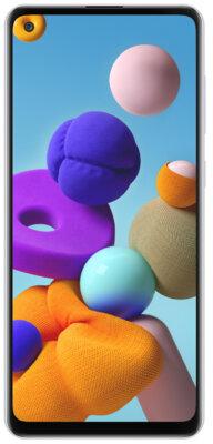 Смартфон Samsung Galaxy A21s White 1