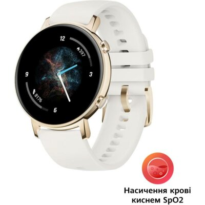 Смарт-годинник Huawei Watch GT 2 Classic Edition 42mm Frosty White (55025350) 2