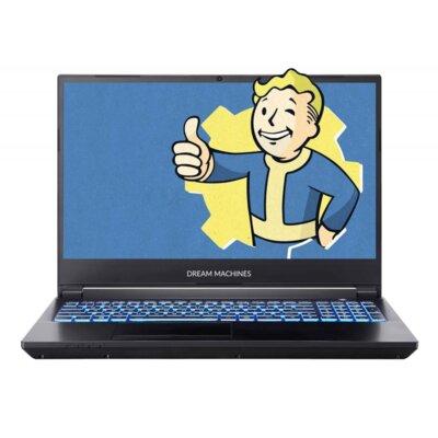 Ноутбук DREAM MACHINES T1660Ti-15 (T1660Ti-15UA50) Black 1