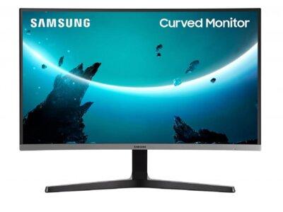 "Mонітор 27"" Samsung Curved C27R500 (LC27R500FHIXCI) Dark Silver 1"