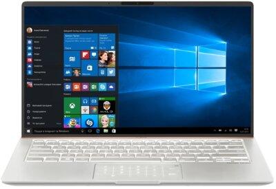 Ноутбук ASUS ZenBook UX433FLC-A6346T (90NB0MP8-M12080) Ice Silver 1