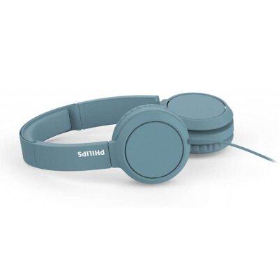 Наушники Philips On-ear headphones TAH4105 (TAH4105BL/00) Blue 3
