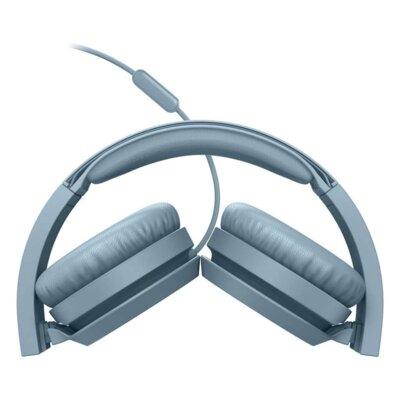 Наушники Philips On-ear headphones TAH4105 (TAH4105BL/00) Blue 4