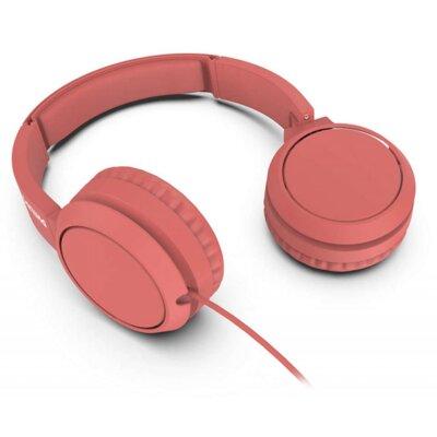 Наушники Philips On-ear headphones TAH4105 (TAH4105RD/00) Red 2