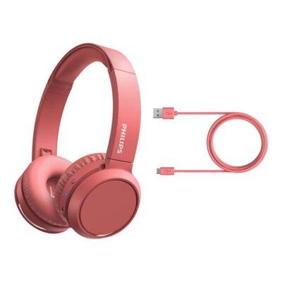 Наушники Philips Wireless Mic headpohones TAH4205 (TAH4205RD/00) Red 2