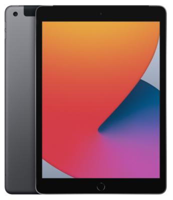 "Планшет Apple iPad 10.2"" Wi-Fi + LTE 32Gb Space Grey (MYMH2RK/A)2020 2"