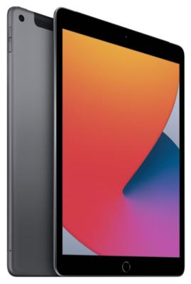 "Планшет Apple iPad 10.2"" Wi-Fi + LTE 32Gb Space Grey (MYMH2RK/A)2020 3"
