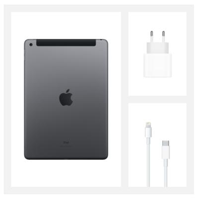 "Планшет Apple iPad 10.2"" Wi-Fi + LTE 32Gb Space Grey (MYMH2RK/A)2020 5"