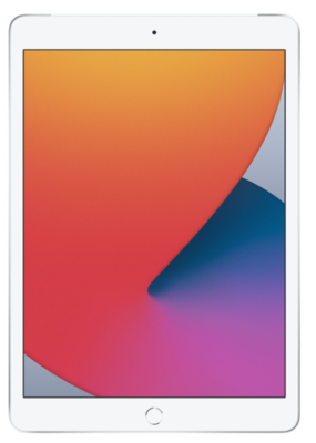 "Планшет Apple iPad 10.2"" Wi-Fi + LTE 32Gb Silver (MYMJ2RK/A)2020 1"