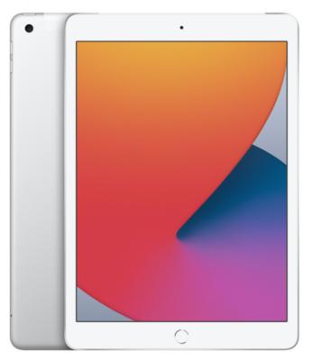 "Планшет Apple iPad 10.2"" Wi-Fi + LTE 32Gb Silver (MYMJ2RK/A)2020 2"